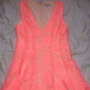 Bright pink Charlotte Russe dress